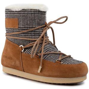 Cizme de zăpadă MOON BOOT - Side Low 24201100003 Whisky imagine