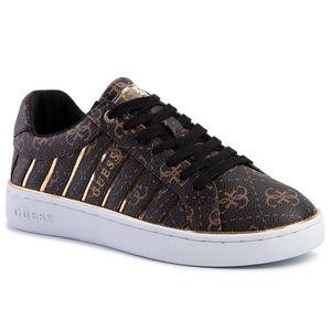 Sneakers GUESS - Bolier FL5BOL FAL12 BROWN/GOLD imagine