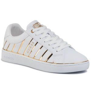 Sneakers GUESS - Bolier FL5BOL ELE12 WHITE/GOLD imagine