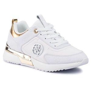 Sneakers GUESS - Marlyn4 FL5MYN FAL12 WHITE imagine
