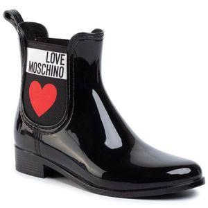 Cizme de cauciuc LOVE MOSCHINO - JA21013G1AIS0000 Nero imagine