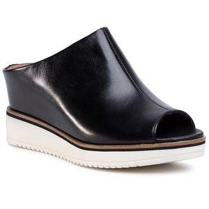 Șlapi TAMARIS - 1-27200-24 Black Leather 003 imagine