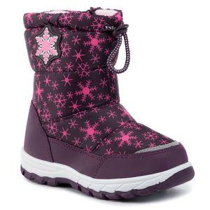 Cizme de zăpadă NELLI BLU - CSL19130-5 Violet imagine