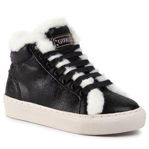 Sneakers GUESS - Furry FI8FUR ELE12 BLACK imagine
