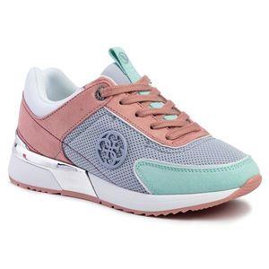 Sneakers GUESS - Marlyn4 FL5MR5 FAB12 LBLUE imagine