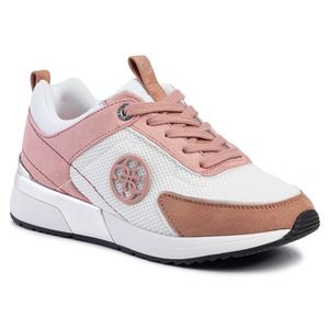 Sneakers GUESS - Marlyn 4 FL5MR5 FAB12 WHITE/PINK imagine