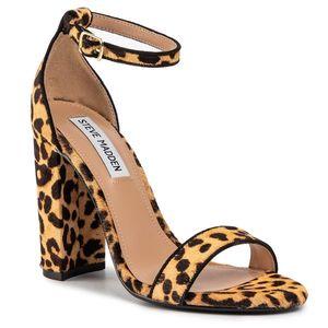 Sandale Dama Leopard imagine