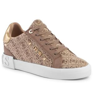 Sneakers GUESS - Puxly2 FL5P2X FAL12 BEIGE/BROWN imagine