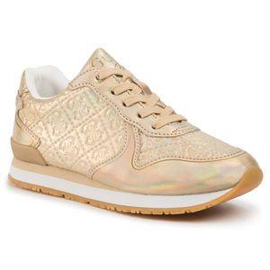 Sneakers GUESS - Tessa FI5TES FAL12 GOLD imagine