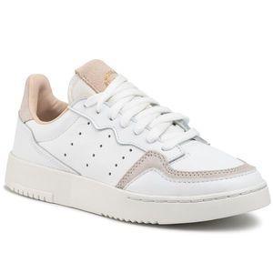 Pantofi adidas - Supercourt J EE8795 Ftwwht/Ftwwht/Crywht imagine