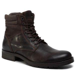 Cizme JACK&JONES - Jfwzachary Boot 12156001 Brown Stone imagine