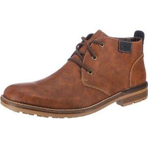 RIEKER Pantofi cu șireturi maro caramel imagine