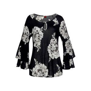 LASCANA Bluză negru / alb imagine