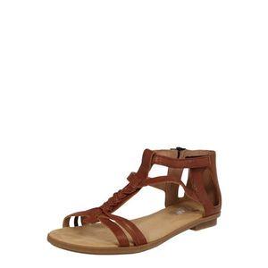 RIEKER Sandale cu baretă maro imagine