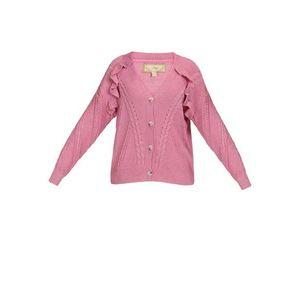 MYMO Geacă tricotată roz imagine