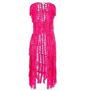 MYMO Vestă roz neon imagine
