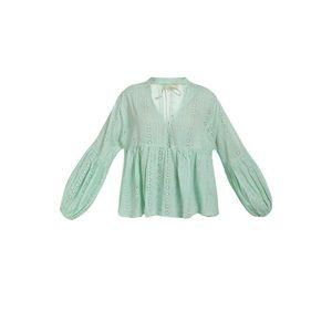MYMO Bluză verde mentă imagine