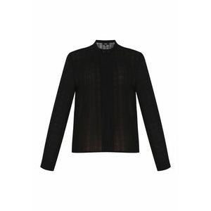 usha BLACK LABEL Bluză negru imagine