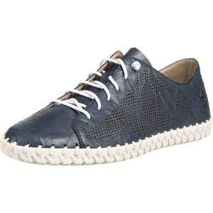 RIEKER Pantofi cu șireturi albastru porumbel imagine