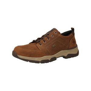 RIEKER Pantofi cu șireturi sport maro caramel / maro mokka imagine