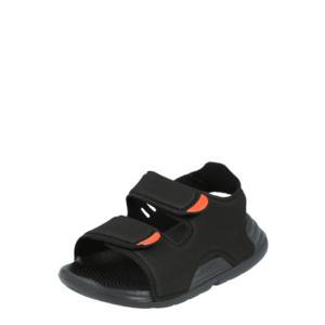 ADIDAS PERFORMANCE Flip-flops negru / roșu imagine