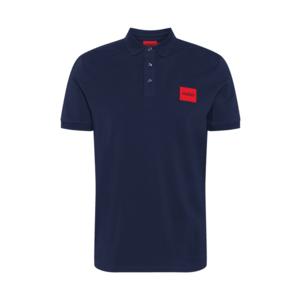 HUGO Tricou 'Dereso212' roșu / negru / albastru noapte imagine