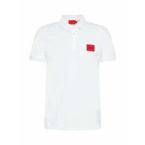 HUGO Tricou 'Dereso212' alb / roșu / negru imagine