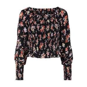 PIECES Bluză 'Dakota' negru / mai multe culori imagine