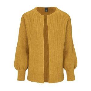 heine Geacă tricotată galben muștar imagine
