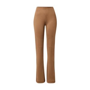 Pantaloni lungi, maro, evazati imagine