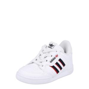 ADIDAS ORIGINALS Sneaker 'CONTINENTAL 80' alb / negru / roșu imagine