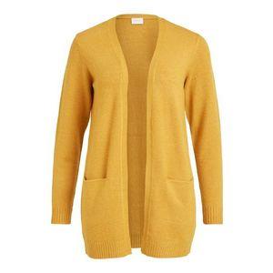 VILA Geacă tricotată 'Ril' galben imagine