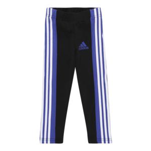 ADIDAS PERFORMANCE Pantaloni sport negru / albastru regal / alb imagine