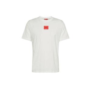 HUGO Tricou 'Diragolino' alb / roșu deschis imagine