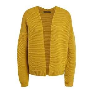 SET Geacă tricotată galben muștar imagine