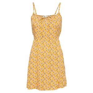 HOLLISTER Rochie de vară galben / alb / verde imagine