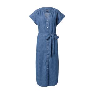 GAP Rochie tip bluză albastru denim imagine