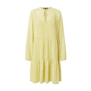 COMMA Rochie tip bluză galben / alb imagine
