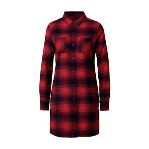 Urban Classics Rochie tip bluză albastru / roșu imagine
