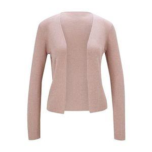 heine Geacă tricotată roz pudră imagine