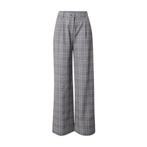 Tally Weijl Pantaloni negru / gri / alb imagine