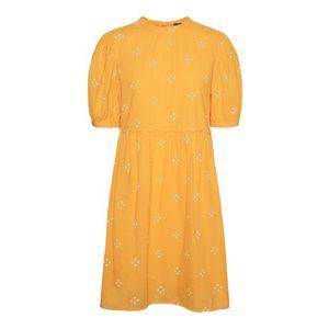 Vero Moda Curve Rochie galben / galben deschis imagine