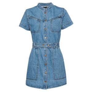 Bardot Rochie tip bluză 'STACEY' albastru denim imagine