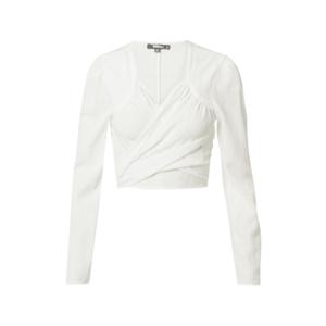 Missguided Bluză alb imagine
