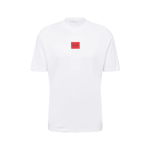 HUGO Tricou 'Dabagari' alb / roșu imagine