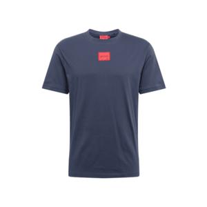 HUGO Tricou 'Diragolino212' albastru marin / roșu imagine