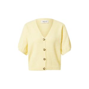 modström Geacă tricotată 'Irene' galben deschis imagine