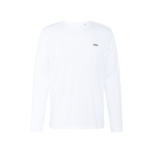HUGO Tricou 'Derol' alb murdar / negru imagine