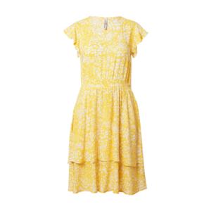 Sublevel Rochie de vară galben / alb imagine