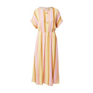 NÜMPH Rochie tip bluză 'CAMELLIA' galben miere / mauve / roz deschis / galben imagine